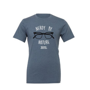Nerdy By Nature Adult Tee